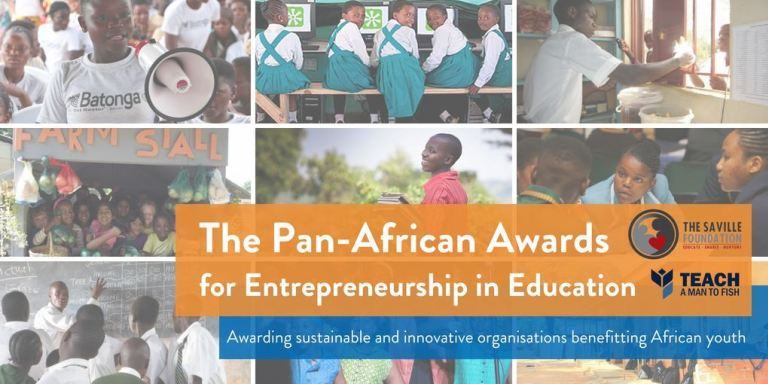 "APPLY: Pan African ""Teach a Man to Fish"" Awards for Entrepreneurship in Education 2019"