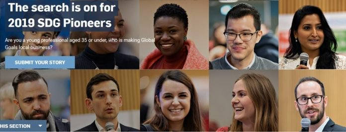 APPLY: UN Global Compact 2019 Call for Sustainable Development Goals (SDG) Pioneers